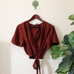 Cotton On wrap top, with tags!